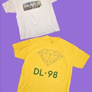2 XL Diamond Supply T-Shirt!